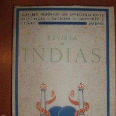 Libros de segunda mano: REVISTA DE INDIAS. AÑO 1949. SUMARIO FOTOGRAFIADO.. Lote 57120737