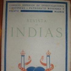 Libros de segunda mano: REVISTA DE INDIAS. AÑO 1949. SUMARIO FOTOGRAFIADO.. Lote 57120764