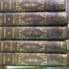 Libros de segunda mano: ISTORIA DE CATALUÑA Y DE LA CORONA DE ARAGON . Lote 57529916