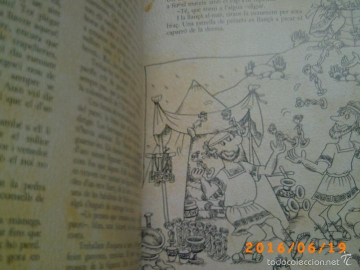 Libros de segunda mano: EL MERAVELLÓS DESEMBARCAMENT DELS GRECS A EMPÚRIES-TEXT M. BRUNET-ILLUSTRACIONS P. BAYÉS-ED. AUSA - Foto 11 - 57562905