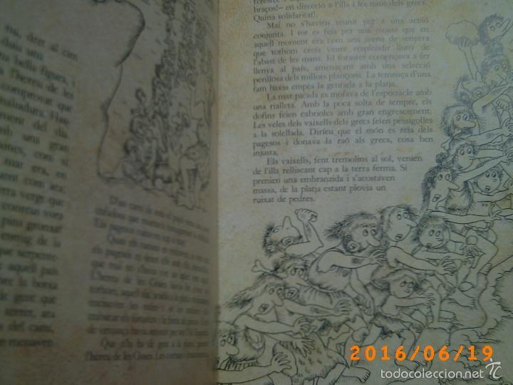 Libros de segunda mano: EL MERAVELLÓS DESEMBARCAMENT DELS GRECS A EMPÚRIES-TEXT M. BRUNET-ILLUSTRACIONS P. BAYÉS-ED. AUSA - Foto 13 - 57562905