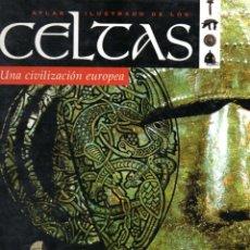 Libros de segunda mano: ATLAS ILUSTRADO DE LOS CELTAS - UNA CIVILIZACIÓN EUROPEA (SUSAETA, 2004). Lote 58295630