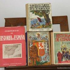 Libros de segunda mano - 7276 - HISTORIA DE ESPAÑA. 4 EJEM. VV. AA(VER DESCRIP). VV. EDI. 1946-1947. - 59068940