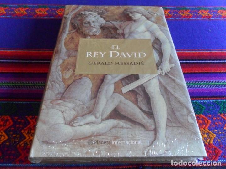 EL REY DAVID DE GERALD MESSADIÉ. PLANETA 2001. PRECINTADO. (Libros de Segunda Mano - Historia Antigua)