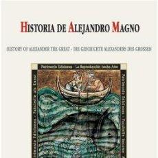 Libros de segunda mano: LIBRO ESTUDIO DE LA HISTORIA DE ALEJANDRO MAGNO, S. XIII. Lote 62652920