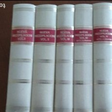 Libros de segunda mano: RECOPILACION DE LAS LEYES DESTOS REYNOS. ED. FACSÍMIL. SOBRE LA DE 1640. LEX NOVA. VALLADOLID 1982. Lote 63171024