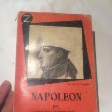 Libros de segunda mano: ANTIGUO LIBRO NAPOLEÓN POR EMIL LUDWIG AÑO 1958 EDITORIAL JUVENTUD S.A. . Lote 64765707