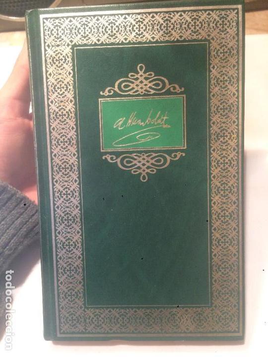 Libros de segunda mano: Antiguo libro Viajes y conquistas Humbolot biblioteca historica - Foto 2 - 64846323