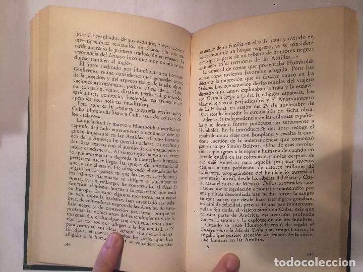 Libros de segunda mano: Antiguo libro Viajes y conquistas Humbolot biblioteca historica - Foto 4 - 64846323
