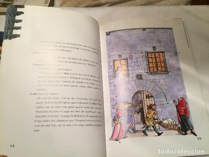 Libros de segunda mano: Antiguo libro les gargoles del hospital escrito por Antoni Ribes Salvà Editorial la Galera - Foto 3 - 66917490