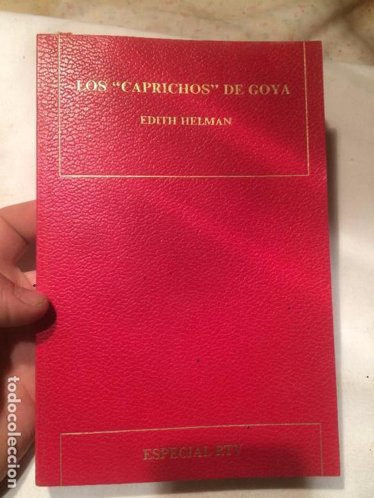 ANTIGUO LIBRO LOS CARPICHOS DE GOYA ESCRITO POR EDITH HELMAN AÑO 1971 (Libros de Segunda Mano - Historia Antigua)