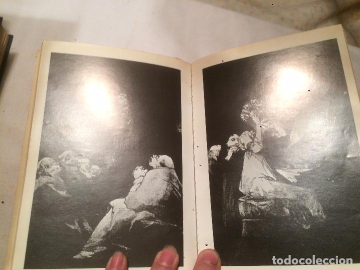 Libros de segunda mano: Antiguo libro los carpichos de Goya escrito por Edith Helman año 1971 - Foto 4 - 67068530