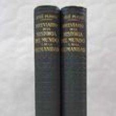 Libros de segunda mano: BREVIARIO DE LA HISTORIA DEL MUNDO Y DE LA HUMANIDAD. JOSÉ PIJOAN 1948. Lote 67327397