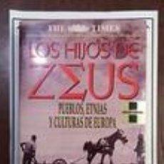 Libros de segunda mano: LOS HIJOS DE ZEUS. PUEBLOS, ETNIAS Y CULTURAS DE EUROPA - FELIPE FERNÁNDEZ-ARMESTO. Lote 64556579
