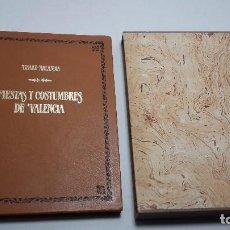 Libros de segunda mano: FIESTAS Y COSTUMBRES DE VALENCIA. ARLANDIS, LISARD.. Lote 68474373