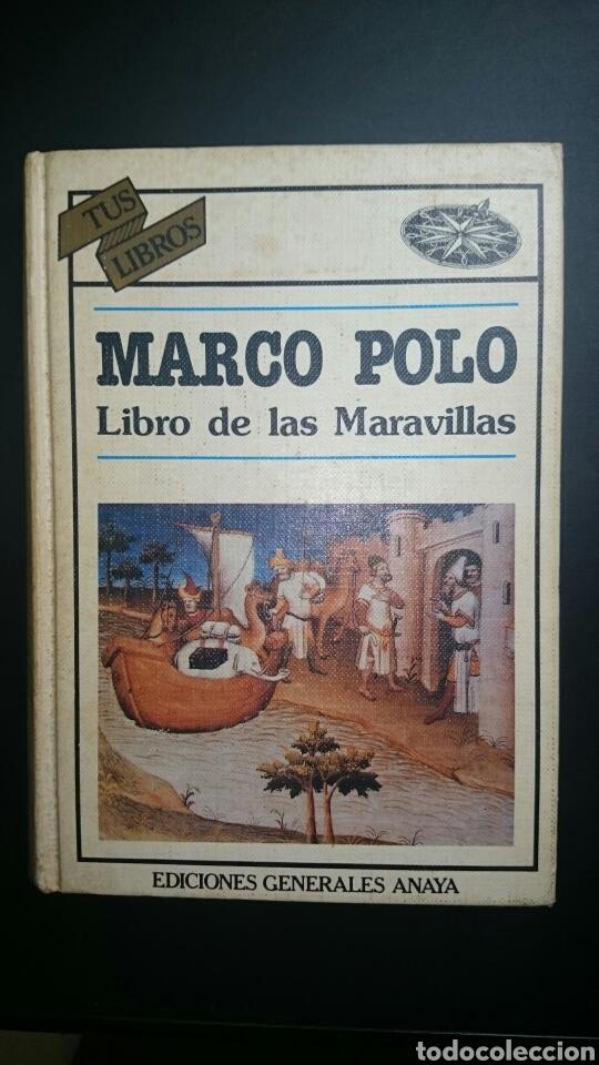 MARCO POLO LIBRO DE LAS MARAVILLAS (Libros de Segunda Mano - Historia Antigua)