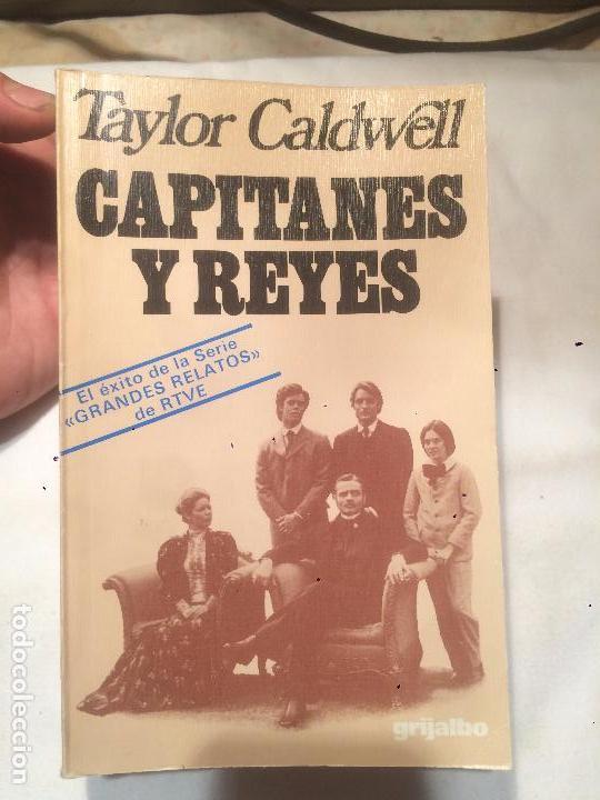 ANTIGUO LIBRO CAPITANES Y REYES ESCRITO POR TAYLOR CALDWELL AÑO 1978 (Libros de Segunda Mano - Historia Antigua)