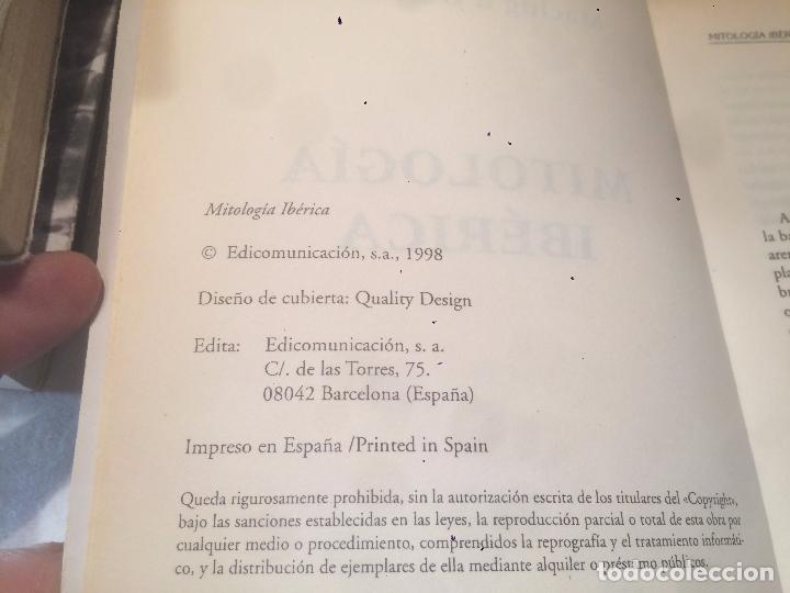 Libros de segunda mano: Antiguo libro mitología Ibérica escrito por M. Dobrheravt año 1998 - Foto 2 - 69971565