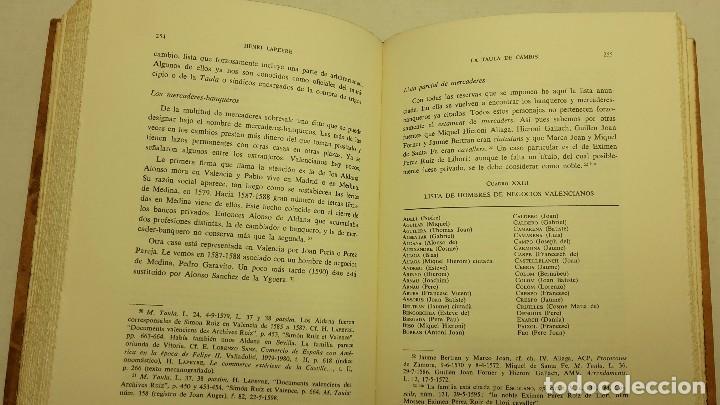 Libros de segunda mano: LA TAULA DE CAMBIS (EN LA VIDA ECONÓMICA DE VALENCIA A MEDIADOS DEL REINANDO DE FELIPE II) - Foto 4 - 71486691