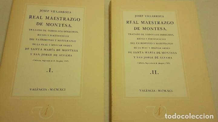 REAL MAESTRAZGO DE MONTESA (Libros de Segunda Mano - Historia Antigua)