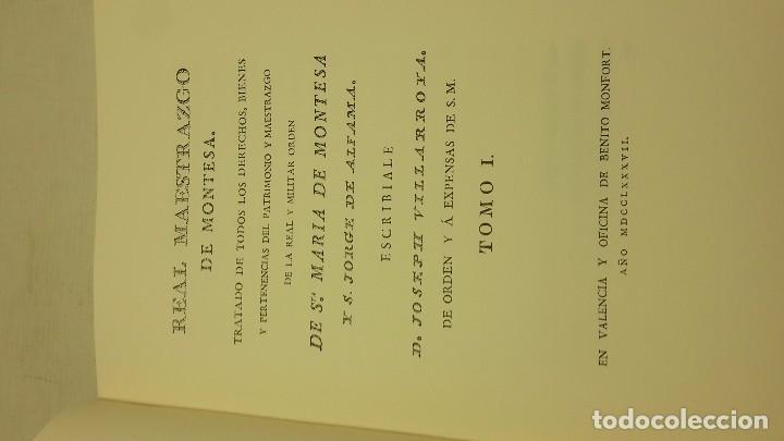 Libros de segunda mano: Real Maestrazgo de Montesa - Foto 2 - 71600731
