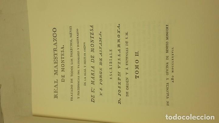Libros de segunda mano: Real Maestrazgo de Montesa - Foto 3 - 71600731