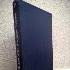 Libros de segunda mano: YOURCENAR, MARGUERITE.MEMORIAS DE ADRIANO. Lote 71604567
