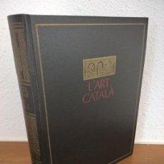 Libros de segunda mano: L'ART CATALÀ, MARCEL DURLIAT,PRIMERA EDICION 1967. Lote 71669363