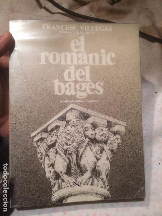 ANTIGUO LIBRO EL ROMÀNIC DEL BAGES ESCRITO POR FRANCESC VILLEGAS (Libros de Segunda Mano - Historia Antigua)