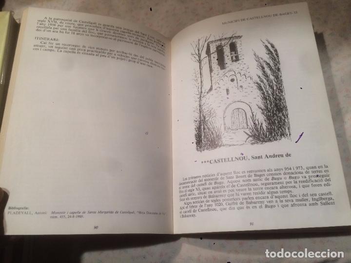 Libros de segunda mano: Antiguo libro el Romànic del Bages escrito por Francesc Villegas - Foto 3 - 73500171