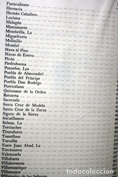 Libros de segunda mano: RELACIONES DE LOS PUEBLOS DE ESPAÑA ORDENADAS POR FELIPE II - CIUDAD REAL - Carmelo VIÑAS/ Ramón PAZ - Foto 6 - 73833303
