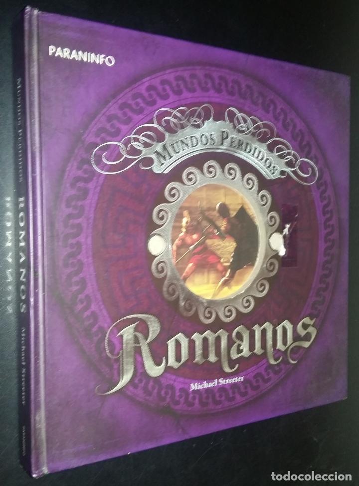 MUNDOS PERDIDOS ROMANOS / MICHAEL STREETER (Libros de Segunda Mano - Historia Antigua)