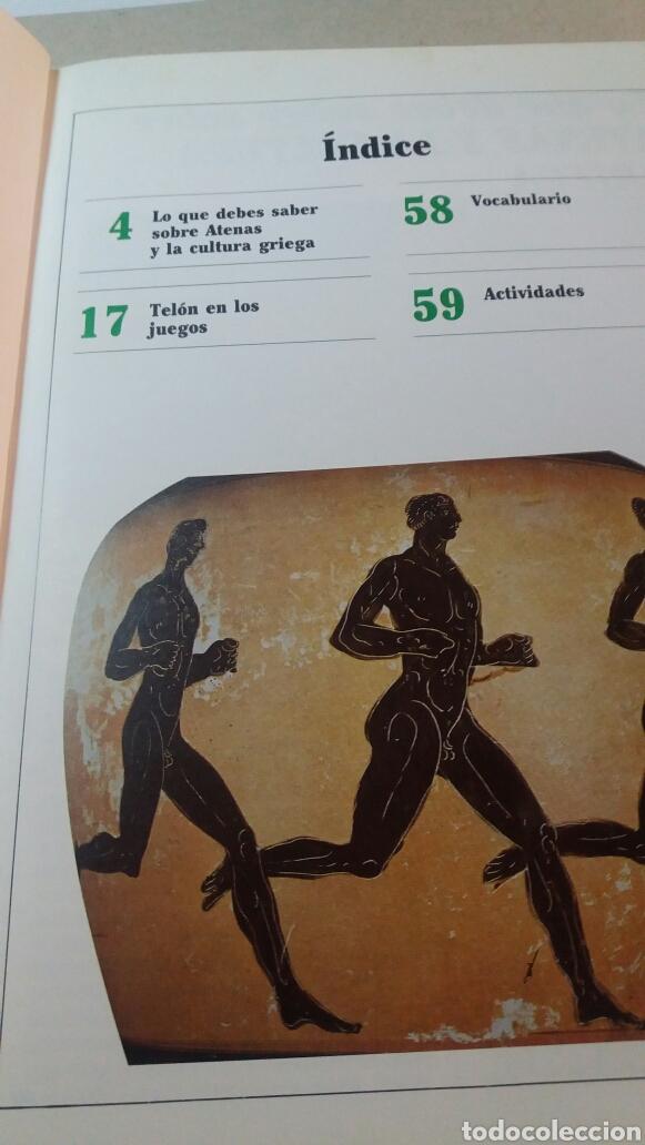 Libros de segunda mano: ANTIGUO LIBRO GRECIA Y LAS OLIMPIADAS 1990 - Foto 2 - 74252070