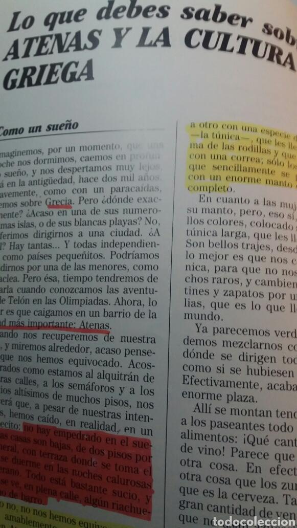 Libros de segunda mano: ANTIGUO LIBRO GRECIA Y LAS OLIMPIADAS 1990 - Foto 3 - 74252070
