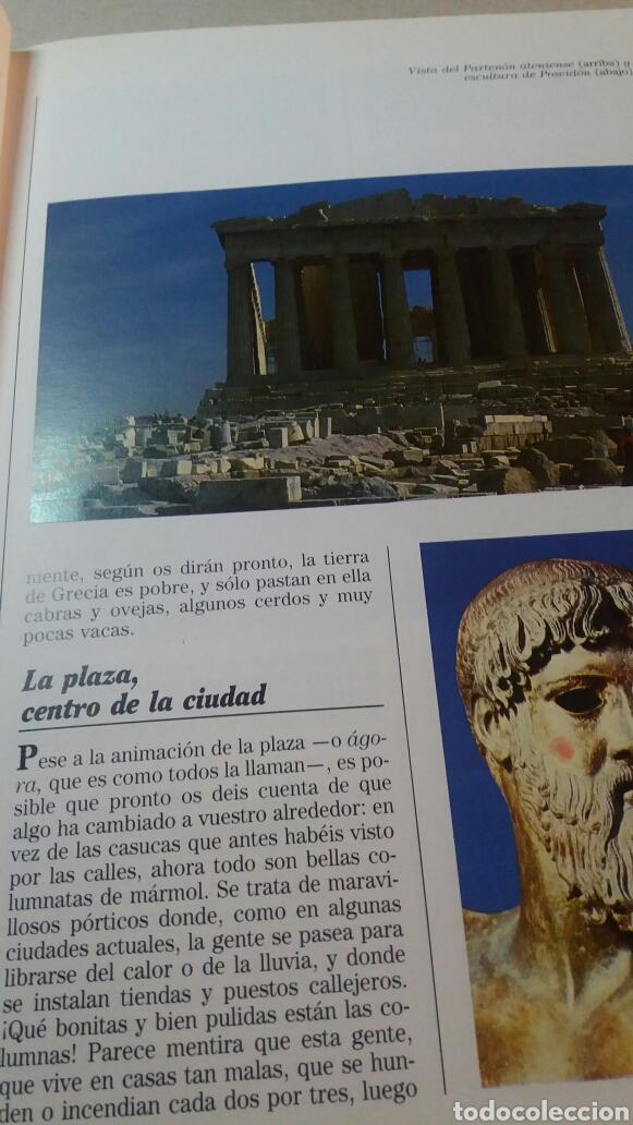 Libros de segunda mano: ANTIGUO LIBRO GRECIA Y LAS OLIMPIADAS 1990 - Foto 4 - 74252070