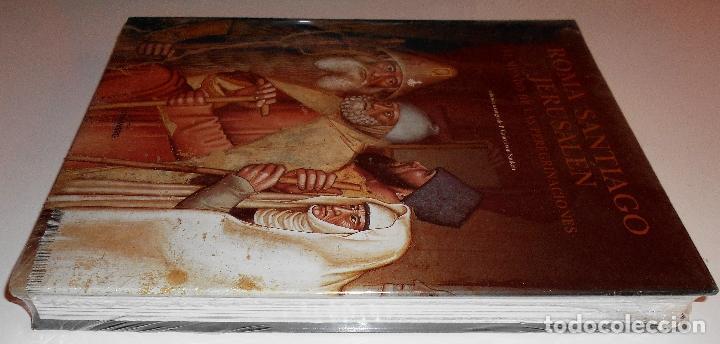 ROMA SANTIAGO JERUSALÉN. EL MUNDO DE LAS PEREGRINACIONES. (NUEVO - PRECINTADO) (Libros de Segunda Mano - Historia Antigua)