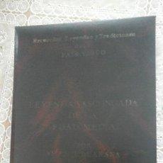 Libros de segunda mano: LEYENDA VASCONGADA DE LA EDAD MEDIA.VICENTE DE ARANA.1985. Lote 75105775