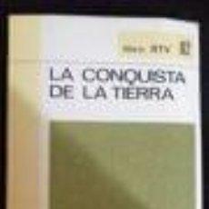 Libros de segunda mano: LA CONQUISTA DE LA TIERRA -HISTORIA-BIBLIOTECA BASICA SALVAT- LIBRO RTV82 JUAN MALUQUER DE MONTES/JU. Lote 75256503