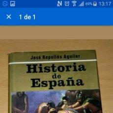Libros de segunda mano: HISTORIA DE ESPAÑA. EDAD ANTIGUA Y MEDIA. TOMO 1. ED. PETRONIO. Lote 79474534