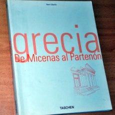 Libros de segunda mano: LIBRO GRAN FORMATO DE FOTOGRAFÍAS: GRECIA, DE MICENAS AL PARTENÓN - EDITORIAL TASCHEN - AÑO 2001. Lote 80566826