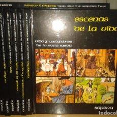 Libros de segunda mano: VIDA Y COSTUMBRES DE LA EDAD MEDIA. SOPENA. 8 TOMOS ( COMPLETA). Lote 81082956
