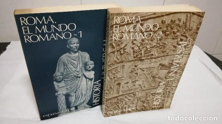 Libros de segunda mano: 28-ROMA, EL MUNDO ROMANO, 2 tomos, 1985 - Foto 2 - 82048864