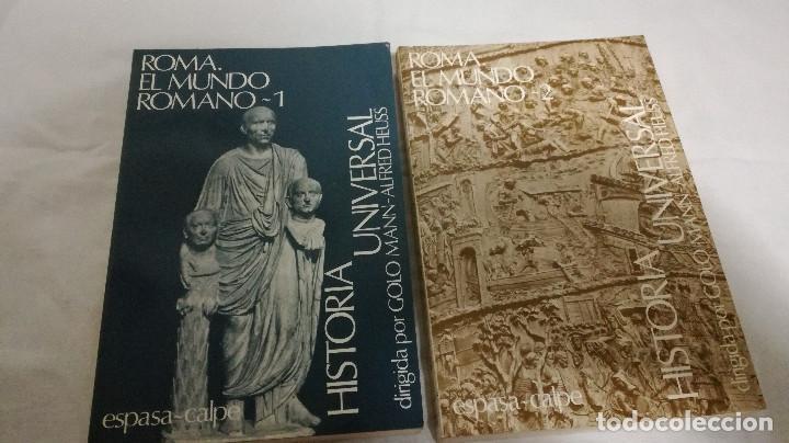 Libros de segunda mano: 28-ROMA, EL MUNDO ROMANO, 2 tomos, 1985 - Foto 3 - 82048864