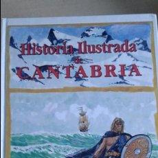 Libros de segunda mano: COMIC HISTORIA DE CANTABRIA, HISTORIA ILUSTRADA DE CANTABRIA, EDITORS 1990. Lote 82256956