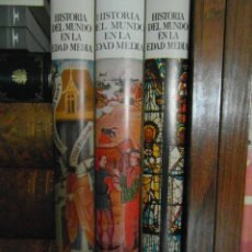 Libros de segunda mano: HISTORIA DEL MUNDO EN LA EDAD MEDIA. CAMBRIDGE UNIVERSITY PRESS. EDITORIAL RAMON SOPENA. PREVITE ORT. Lote 83097683
