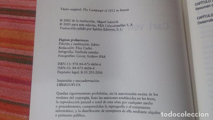 Libros de segunda mano: LA CAMPAÑA RUSA - Foto 4 - 83574400