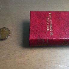 Libros de segunda mano: MINI LIBRO GRANDES BATALLAS I. SITIO Y CAÍDA DE CONSTANTINOPLA. ROCHE, 1974. Lote 86185980
