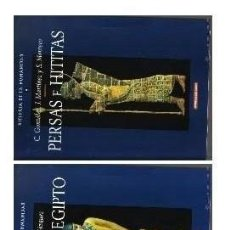 Libros de segunda mano: HISTORIA HUMANIDAD - MESOPOTAMIA, ANTIGUO EGIPTO Y PERSAS E HITITAS - VOLUMENES 3, 4 Y 5 - NUEVOS. Lote 86543732