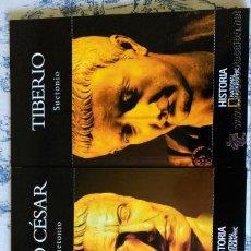 Libros de segunda mano: AUGUSTO, JULIO CESAR Y TIBERIO - 3 LIBROS DE NATIONAL GEOGRAPHIC - NUEVOS. Lote 86543932