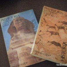 Libros de segunda mano: PREHISTORIA. LAS PRIMERAS CULTURAS SUPERIORES 2 TOMOS . GOLO MANN - ALFRED HEUSS. IMPECABLES. Lote 87161012
